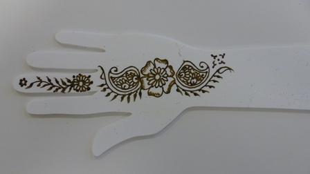 arabesque henna. Black Bedroom Furniture Sets. Home Design Ideas